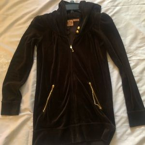 Juicy Couture tracksuit Jacket Petite Brown
